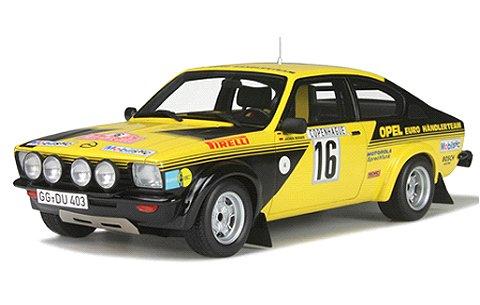 オペル カデット GTE グループ4 モンテカルロ 1976 Rohrl/Berber (1/18 オットーモビルOTM195)