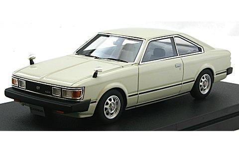トヨタ カリーナ ハードトップ 2000GT 1980 ポロホワイト (1/43 ハイストーリーHS159WH)