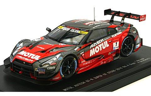 モチュール オーテック GT-R No1 スーパーGT500 2016 Rd.4 菅生 (1/43 エブロ45380)