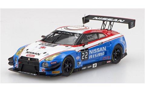 ニッサン GT-R ニスモ GT3 ブランバン エンデュランス シリーズ 2015 No22 (1/43 エブロ45482)