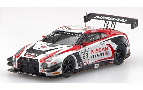 ニッサン GT-R ニスモ GT3 ブランバン エンデュランス シリーズ 2015 チャンピオン No23 (1/43 エブロ45483)