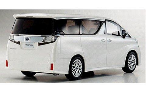 トヨタ ヴェルファイア 3.5 ZA Gエディション ホワイトパール (1/18 京商KSR18011W)