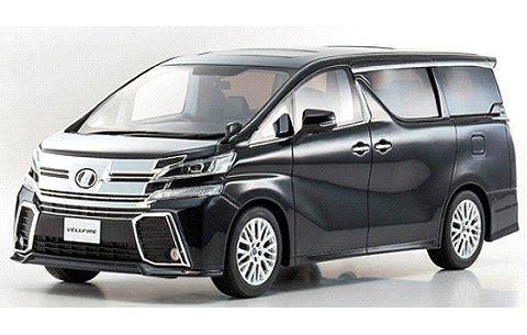 トヨタ ヴェルファイア 3.5 ZA Gエディション ブラックパール (1/18 京商KSR18011BK)