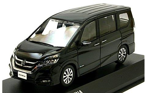 ニッサン セレナ 2016 ダイアモンドブラック (1/43 京商KS03662BK)