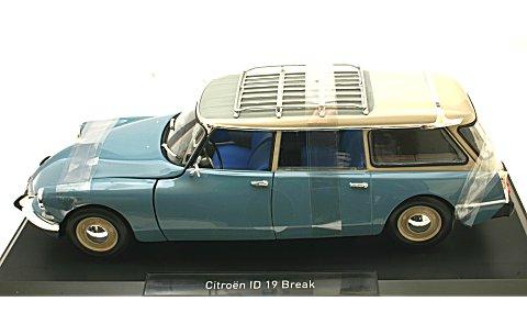 シトロエン ID 19 ブレーク 1967 モンテカルロブルー (1/18 ノレブ181591)