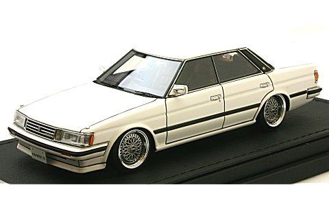 トヨタ マークII グランデ (GX71) ホワイト (1/43 イグニションモデルIG0679)
