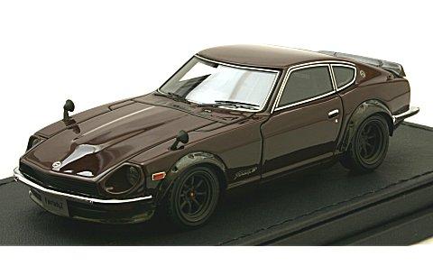 ニッサン フェアレディ Z (S30) マルーン (1/43 イグニションモデルIG0758)