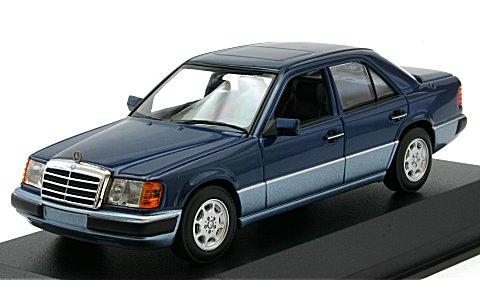 メルセデスベンツ 230E 1991 ブルーM (1/43 ミニチャンプス940037001)