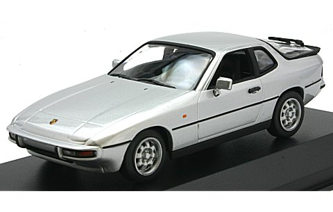 ポルシェ 924 1984 シルバー (1/43 ミニチャンプス940062120)