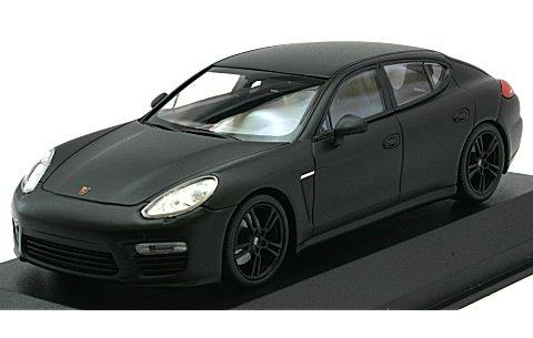 ポルシェ パナメーラ ターボ S 2013 マットブラック (1/43 ミニチャンプス940062370)