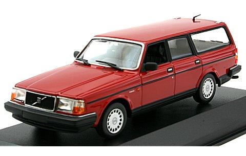 ボルボ 240 GL ブレーク 1986 レッド (1/43 ミニチャンプス940171410)