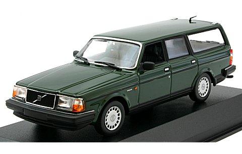 ボルボ 240 GL ブレーク 1986 ダークグリーン (1/43 ミニチャンプス940171411)