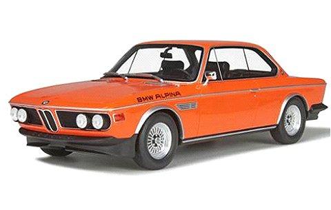 BMW 3.0 CS アルピナ インカオレンジ (1/18 オットーモビルOTM214)