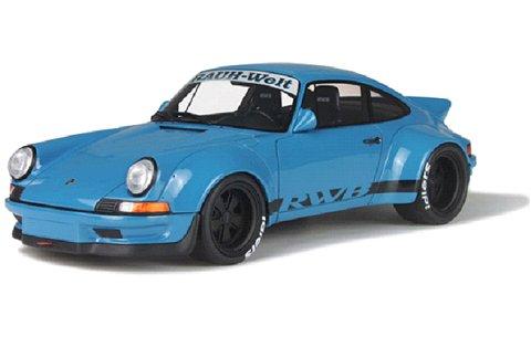 RWB 911 ブルー (1/18 GTスピリット GTS007KJ)