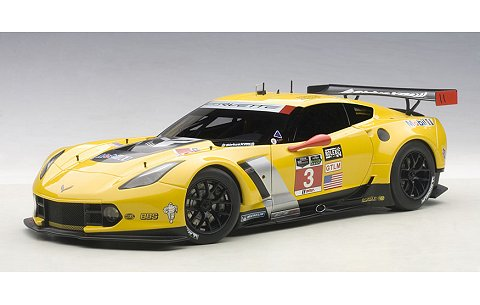 シボレー コルベット C7R GTLM 2015 No3 デイトナ24時間レース優勝 (1/18 オートアート81505)
