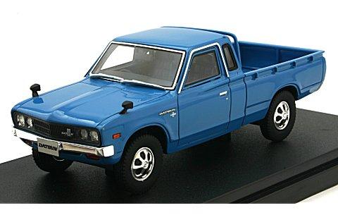 ニッサン ダットサン トラック カスタム DX・L 1979 ブルー (1/43 ハイストーリーHS166BL)