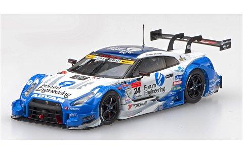 フォーラム エンジニアリング アドバン GT-R スーパーGT500 2016 Rd.2富士 No24 (1/43 エブロ45400)