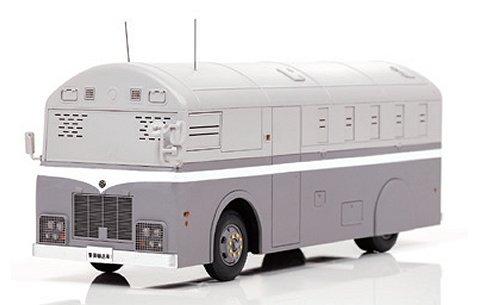 1987 警察本部 警備部機動隊警備車兼輸送車両 (1/43 レイズH7438701)