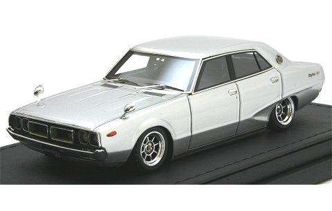 ニッサン スカイライン 2000GT-X (GC110) シルバー Hayashi-Wheel (1/43 (1/43 イグニションモデルIG0383)
