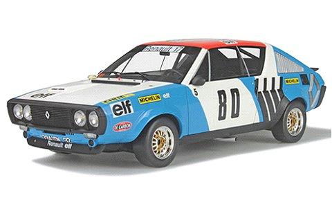 ルノー 17 ゴルディーニ ラリー Gr.5 Rally Vercors-Vivarais (1/18 オットーモビルOTM207)