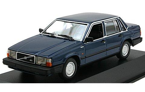 ボルボ 740 GL 1986 ダークブルーM (1/43 ミニチャンプス940171701)