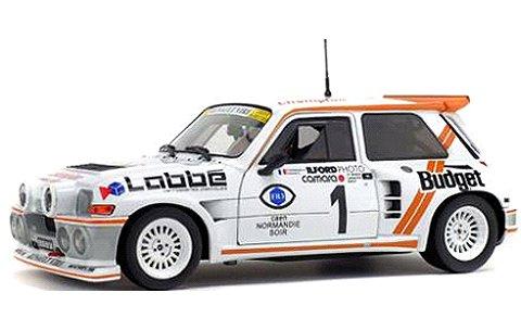 ルノー マキシ 5 (サンク) ターボ アーマーラリー 1986 ホワイト/オレンジ (1/18 ソリドS1850005)