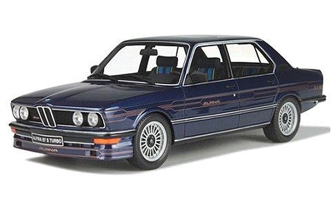 BMW アルピナ B7 S ターボ (E12) ダークブルー (1/18 オットーモビルOTM640)