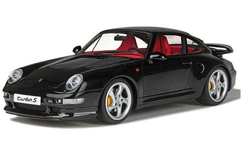 ポルシェ 911ターボ S (993) ブラック (1/18 GTスピリット GTS714)