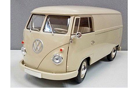 フォルクスワーゲン T1 バス 1963 PANEL VAN クリーム (1/18 ウエリーWE18053CR)