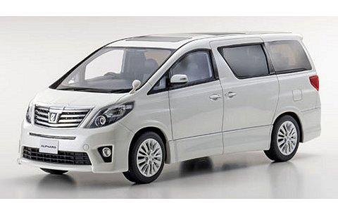 トヨタ アルファード 350S Cパッケージ ホワイトパール (1/18 京商KSR18013W)