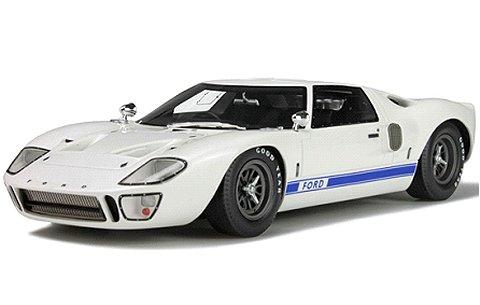 フォード GT40 Mk.1 ホワイト (1/18 GTスピリットGTS131)