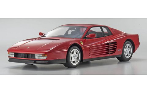 フェラーリ テスタロッサ レッド (1/12 京商KSR08663R)