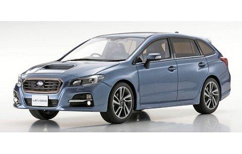 スバル レヴォーグ 1.6 GT-S アイサイト ブルー (1/18 京商KSR18015BL)