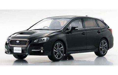 スバル レヴォーグ 1.6 GT-S アイサイト ブラック (1/18 京商KSR18015BK)