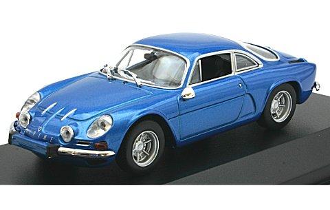 ルノー アルピーヌ A110 1971 ブルーM (1/43 ミニチャンプス940113600)