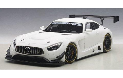 メルセデス・AMG GT3 マットホワイト (1/18 オートアート81531)