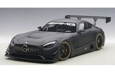 メルセデス・AMG GT3 マットブラック (1/18 オートアート81532)