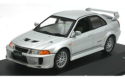 ミツビシ ランサー EvoV RS シルバー (1/43 ホワイトボックスWB214)