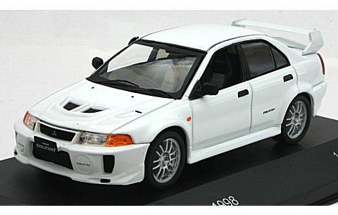 ミツビシ ランサー EvoV 1998 ホワイト (1/43 ホワイトボックスWB216)