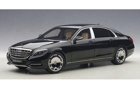 メルセデス マイバッハ S 600 ブラック (1/18 オートアート76293)