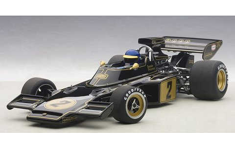 ロータス 72E 1973 No1 ロニー・ピーターソン (ドライバーフィギュア付き) (1/18 オートアート87330)