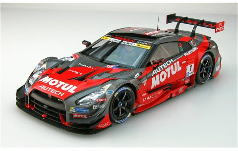 モチュール オーテック GT-R スーパーGT500 2016 Rd.4 菅生 No1 (1/18 エブロ81044)