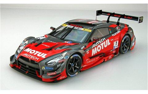 モチュール オーテック GT-R スーパーGT500 2016 Rd.2 富士ウイナー No1 (1/18 エブロ81071)