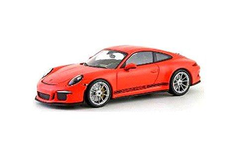 ポルシェ 911 R (991) 2016 ラヴァオレンジ (1/43 ミニチャンプス413066263)