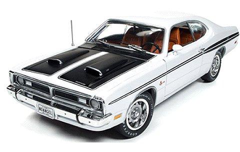 1971 ダッジ Demon ホワイト/ブラック (1/18 アメリカンマッスルAMM1096)