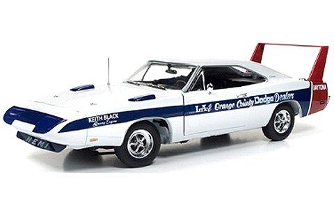 1969 ダッジ デイトナ LA & Orange County Dodge Dealers (1/18 アメリカンマッスルAMM1091)