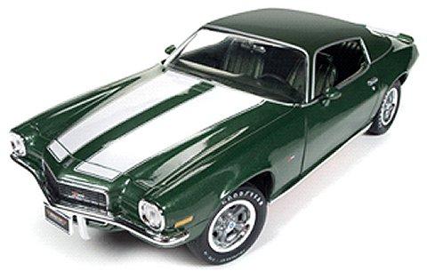 1970 シボレー カマロ Z28 50thアニバーサリー フォレストグリーン (1/18 アメリカンマッスルAMM1095)
