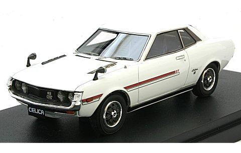 トヨタ セリカ (TA22) ホワイト (1/43 マーク43 PM4351W)