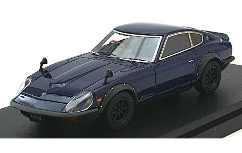 ニッサン フェアレディ 240ZG (スポーツホイール) ブルーM (1/43 マーク43 PM4303SBL)