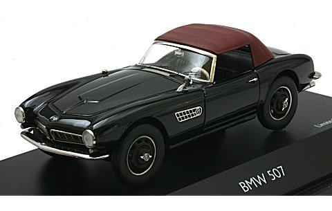 BMW 507 ブラック/レッド (1/43 シュコー450218000)